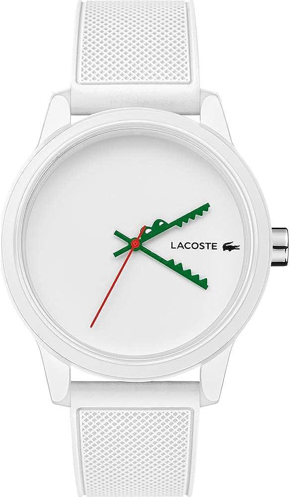 Lacoste Reloj Analógico para Hombre de Cuarzo con Correa en Caucho 2011069
