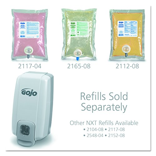 GOJO 2130-06 NXT Space Saver Dispenser for 1000 mL Refills, Dove Gray by Gojo (Image #1)
