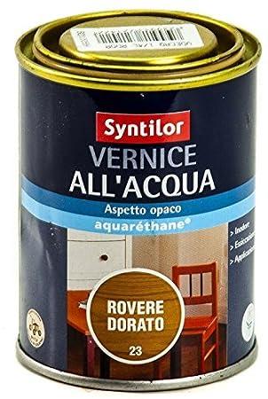 Peinture à Leau Pour Bois Sans Odeur Syntilor Mat Incolore 05 L