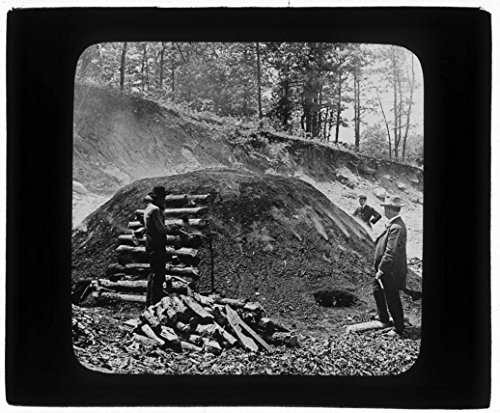 Keystone Lantern Slide View Burning Charcoal Sapphire Country NC