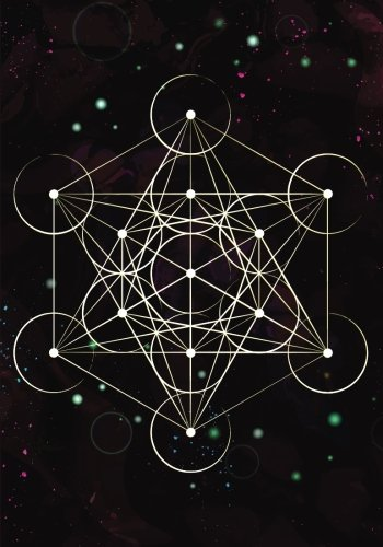 Read Online Metatron Cube Sacred Geometry Notebook: 7x10 Inch Ruled Notebook/Journal PDF