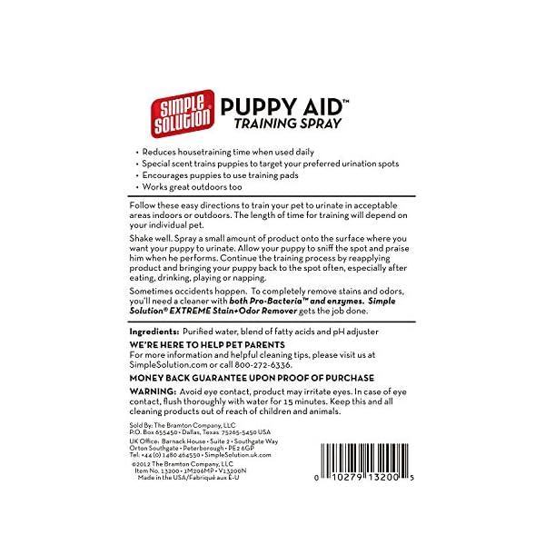 Simple Solution Puppy Training Aid Spray, 500 ml 3