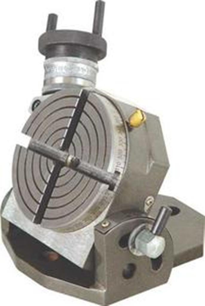 OMEX New Tilting Rotary Table 4'' / 100Mm For Milling Machines - Quality Table
