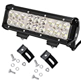 "KAWELL® 54W 9"" Led Light Bar for ATV/Jeep/boat/suv/truck/car/atvs/fishing light Off Road Light"