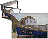 Photo Jigsaw Puzzle of Fishing boat on the beach, Whitstable, Kent, England, UK