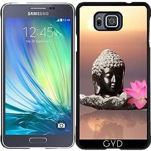 Funda para Samsung Galaxy Alpha - Buda Zen Religión Yoga by WonderfulDreamPicture
