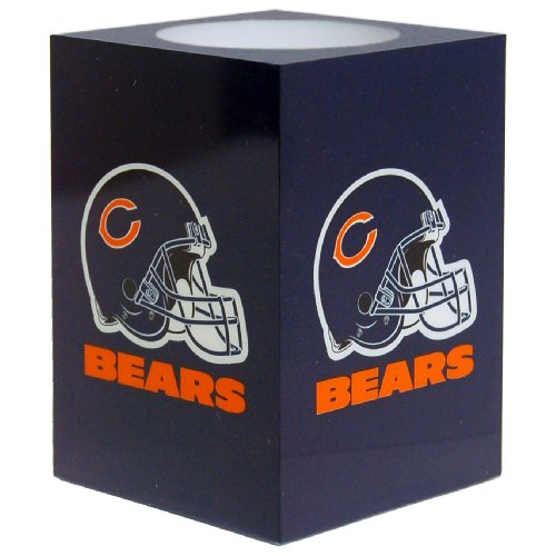 The Northwest Company NFL Chicago Bears Square Flameless (Bears Nfl Candle)