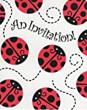 Ladybug Party Supplies Invitations