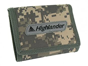 Highlander Monedero, Digital Camo, 12.5 x 9.5 x 1 cm: Amazon ...