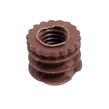 Sourcingmap - ® Chocolate Color hogar Muebles de plástico Tornillo Tapa: Amazon.es: Hogar