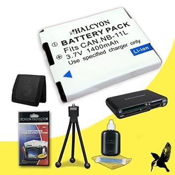 Amazon.com: Halcyon - Batería de repuesto para Canon ...