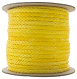 TOUGH-GRID NEW On Amazon - 100Ft 5,000lb Ultra-Cord 3/16-15X Stronger Than Steel...