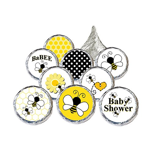 Lifesaver Baby Shower Favors (Bumble Bee Baby Shower Stickers (Set of)