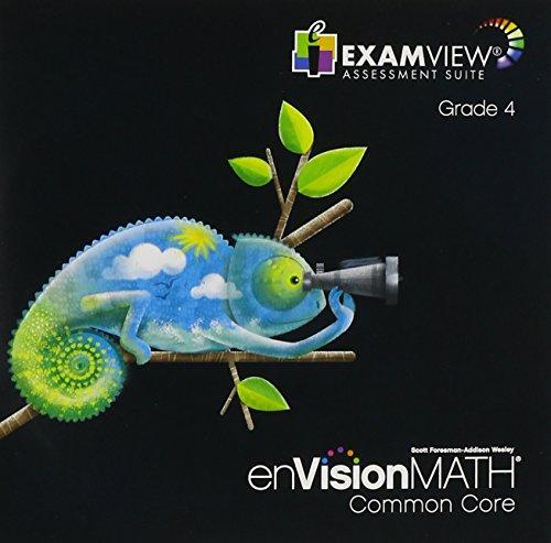 enVision Math Common Core, ExamView Assessement Suite, Grade 4