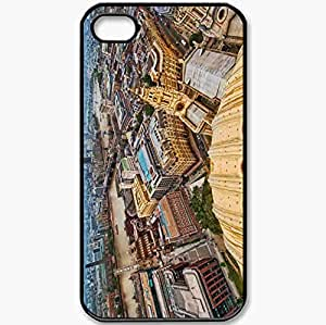 Protective Case Back Cover For iPhone 4 4S Case London England Capital Black