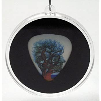 pink floyd tree guitar pick christmas ornament musical instruments. Black Bedroom Furniture Sets. Home Design Ideas
