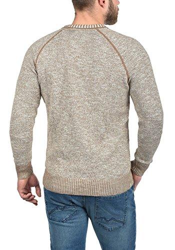 Chaqueta de 100 en Cardigan V Thiamin y hombre algod cuello para con punto 66qHr