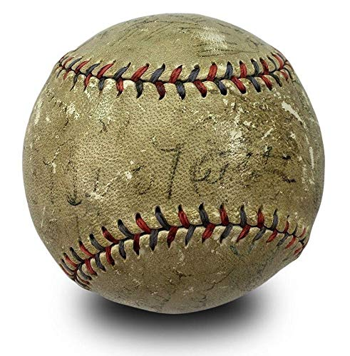 (1932 Yankees World Series Champs Team Signed Baseball Babe Ruth & Lou Gehrig - PSA/DNA Certified - Autographed Baseballs)