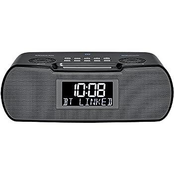 Sangean RCR-20 FM-RDS (RBDS) AM/Bluetooth/Aux-in/USB Charging Digital Tuning Clock Radio