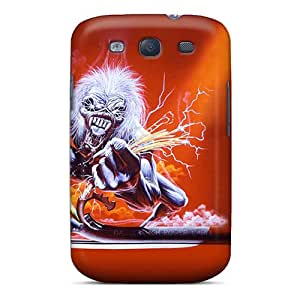 Great Hard Phone Covers For Samsung Galaxy S3 (nwb15466UbtD) Custom High-definition Iron Maiden Pattern