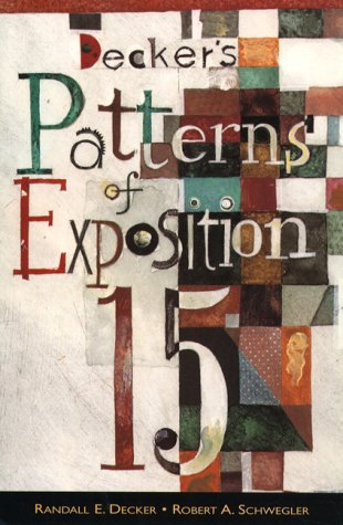 Decker's Patterns of Exposition (15th Edition)