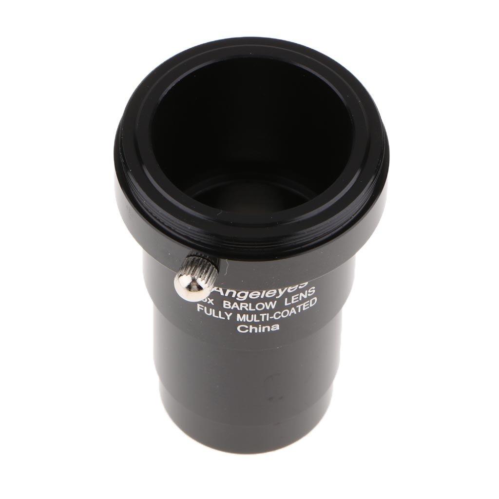 MagiDeal 5X Barlow Lens for Bushnell Leica Zeiss Telescope Eyepiece 1.25'' M42 Thread Reflector Refractor non-brand