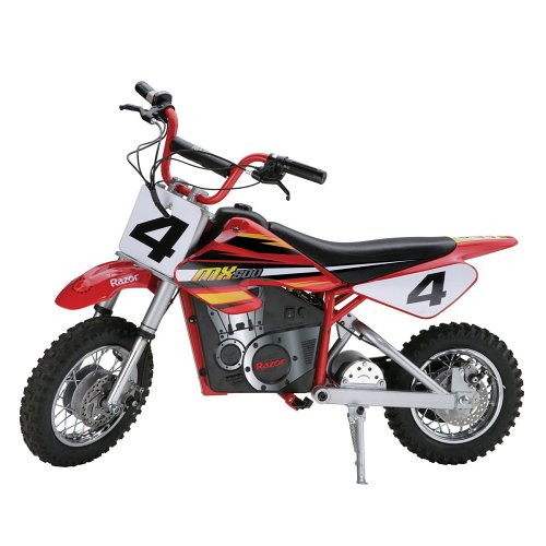 - Razor MX500 Dirt Rocket Electric Motocross Bike