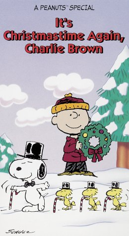 A Charlie Brown Christmas Vhs.Amazon Com It S Christmastime Again Charlie Brown Vhs