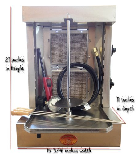 Spinning Grillers 5 In 1 Shawarma Machine Gyro Machine