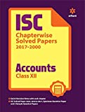ISC Accounts Chapterwise Solved Papers  Class 12th