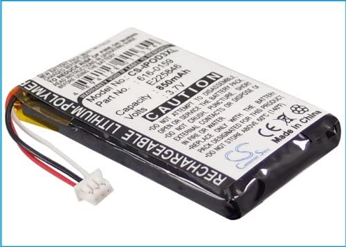 E225846 iPod 40GB M9245LL//A Part NO 616-0159 iPod 20GB M9244LL//A iPod 3th Generation iPod 15GB M9460LL//A Battery Replacement for Apple iPod 10GB M8976LL//A iPod 30GB M8948LL//A
