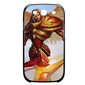Kayle-003 League of Legends LoL Diy For SamSung Galaxy S4 Case Cover Plastic Black