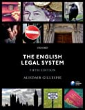 The English Legal System, Gillespie, Alisdair, 0198727216
