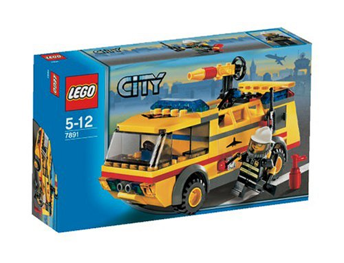 - LEGO City AirPort Fire Truck