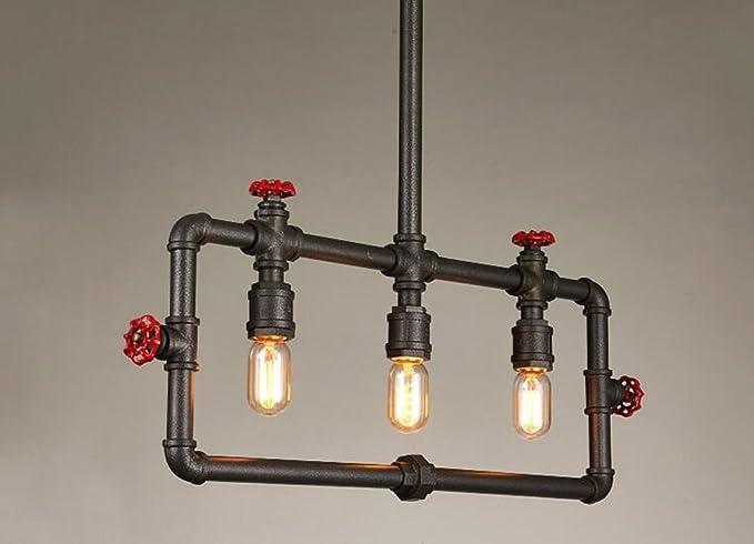 Npz @ retro lampadario industriale a vento creativo lampada a