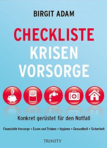 Checkliste Krisenvorsorge / Bild: Amazon.de