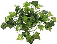 Artificial Vine Reptile Lizards Terrarium Decoration Chameleons Climb Rest Plants Leaves Durable