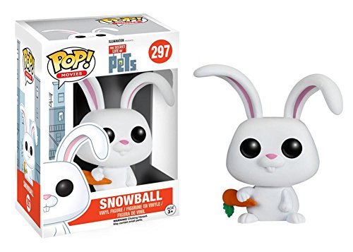 The Secret Life of Pets - Snowball POP Figure Toy 3 x 4in