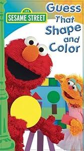 Amazon.com: Sesame S Guess That Color & Shape [VHS ...