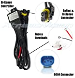 nissan frontier 2000 relay - XtremeVision 9004 Hi/Lo Bi-Xenon Controller HID Battery Relay Wiring Harness 12V 35W/55