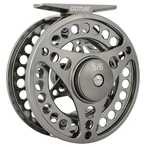 Goture Fly Fishing Reel Waterproof 2+1BB 3/4 5/6 7/8 9/10 Aluminum Alloy Body