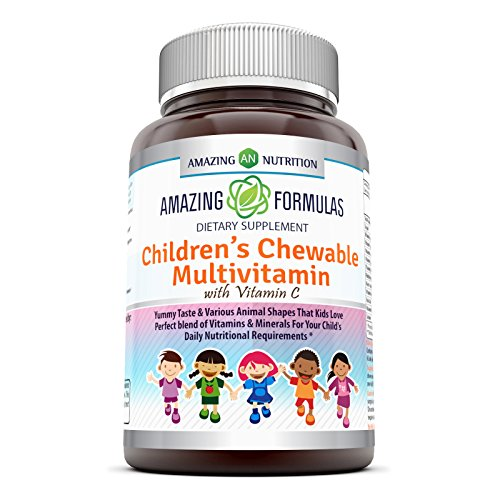 (Amazing Formulas Children's Chewable Multivitamin with Vitamin C Vitamin A 1,250 IU - 120 Tablets)