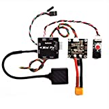 Hobbypower Radiolink Mini PIX PX4 Flight Controller TS100 NEO-M8N GPS for RC Racer Drone Multicopter Quadcopter Car Fixed Wing(Mini PIX with GPS)