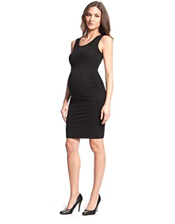 Seraphine Little Black Maternity Dress 8 At Amazon Womens