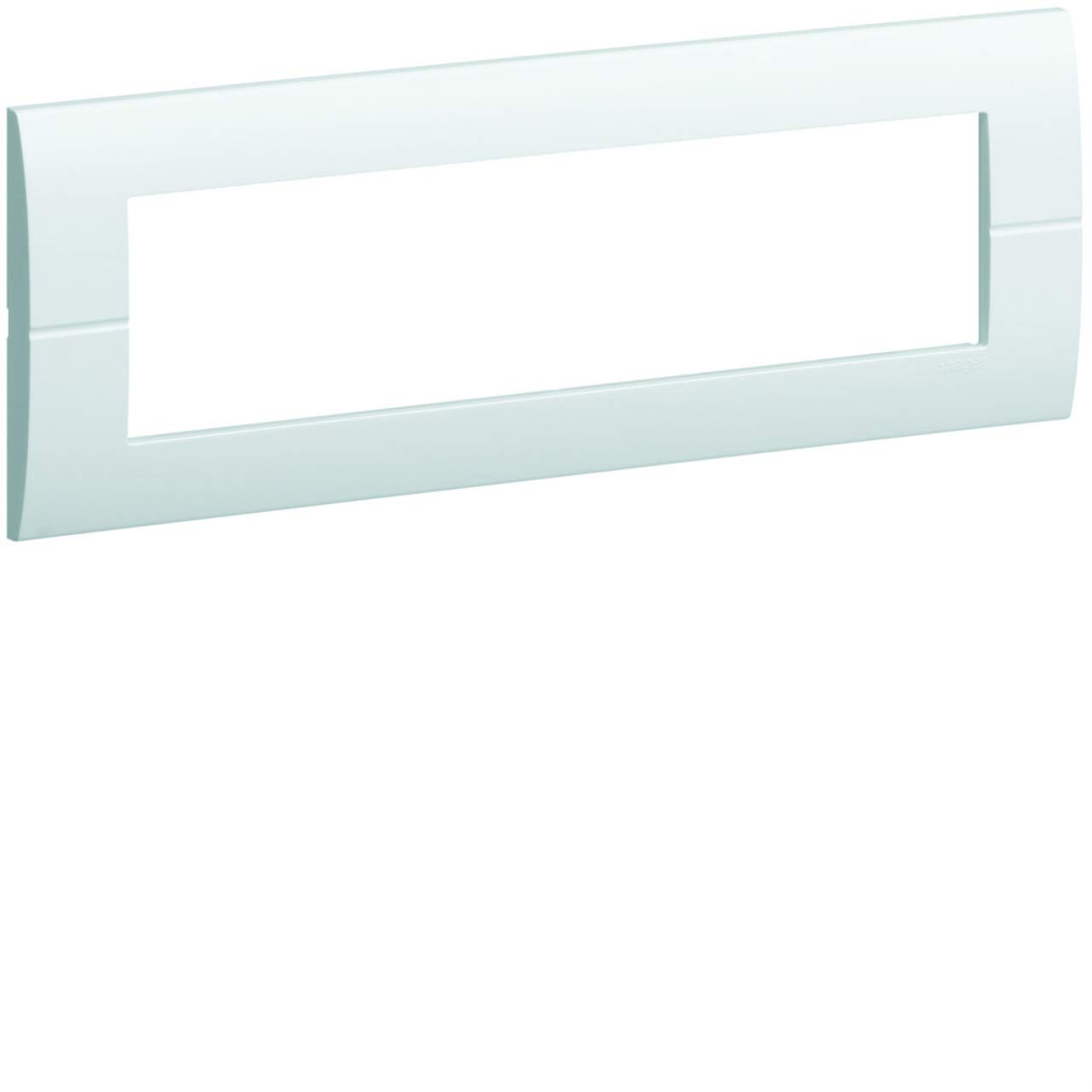 Hager Systo/ /Cadre horizontal 8/Module Systo blanc