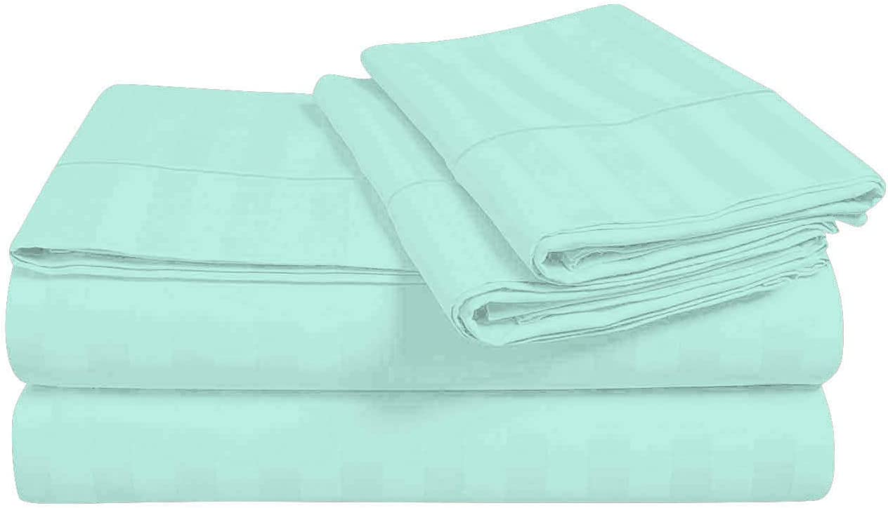 Details about  /Unique 4 PCs Sheet Set 1000tc Egyptian Cotton Solid Colors Twin XL Size