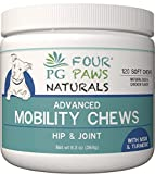 PALMYRA GREEN - GLUCOSAMINE - Dogs - Hip & Joint Supplement - Supports Arthritis Pain Relief - MSM, CHONDROITIN, Turmeric, Yucca & Vitamins - 120 Count