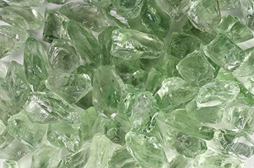 Fantasia Materials: 5 pcs of Prasiolite Green Amethyst Hobbiest Facet Rough - 10-20 cts/pc - Grade 4 - Raw Natural Crystals for Faceting, Cabbing, Cutting, Lapidary, Polishing, Wire Wrapping