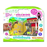 Fiesta Crafts Horse Riding Stickabouts Toy (Multi-Colour) by Fiesta