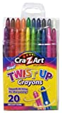 Cra-Z-art Twist up Crayons, 20-Count (10231-48)